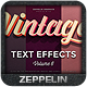 Vintage Text Effects Vol.6 - GraphicRiver Item for Sale