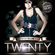 Twenty  (Flyer Template 4x6) - GraphicRiver Item for Sale