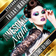 Night (Flyer Template 4x6) - GraphicRiver Item for Sale