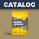 Equipment Specification Catalog / Data Sheet Template - GraphicRiver Item for Sale