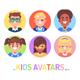 Kids Avatars - GraphicRiver Item for Sale