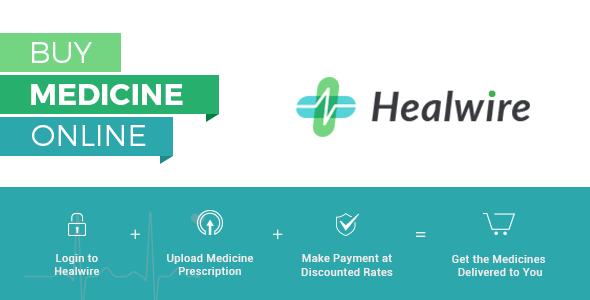 Healwire - Online Pharmacy Download