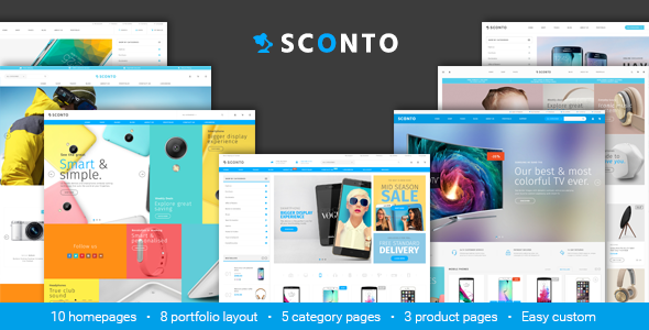 Sconto - Premium eCommerce Template