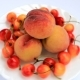 Fresh Peaches And Cherries - VideoHive Item for Sale