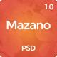 Mazano - Multi-purpose PSD Template - ThemeForest Item for Sale