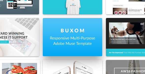 Buxom - Responsive Multi-Purpose Muse Szablon