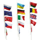 Flags of different countries. 15 items. 48 maps - 3DOcean Item for Sale