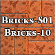 Hi-Res Texture Bricks-10 of Brick Textures - S01 - 3DOcean Item for Sale