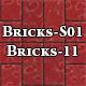 Hi-Res Texture Bricks-11 of Brick Textures - S01 - 3DOcean Item for Sale