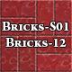 Hi-Res Texture Bricks-12 of Brick Textures - S01 - 3DOcean Item for Sale