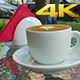 Cup Of Coffee On a Table  - VideoHive Item for Sale