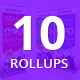 Bundle of 10 Multipurpose Business Rollup Banners - GraphicRiver Item for Sale