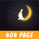 Sunset - Creative Animated 404 Page - ThemeForest Item for Sale