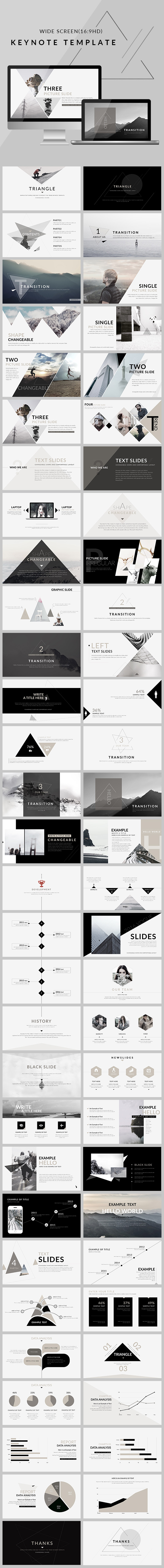 Keynote Templates from GraphicRiver