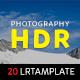 Photography HDR Lightroom Presets - GraphicRiver Item for Sale