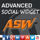 Advanced Social Widget - CodeCanyon Item for Sale