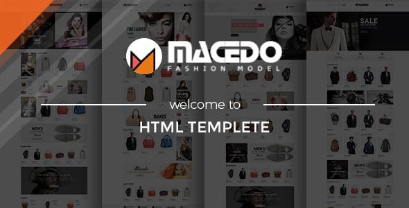 Macedo - Fashion HTML Template