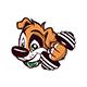 Cartoon Dog Gym - GraphicRiver Item for Sale