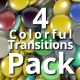 4 Colorful Transition Pack - VideoHive Item for Sale