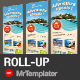 Travel Roll-up - GraphicRiver Item for Sale