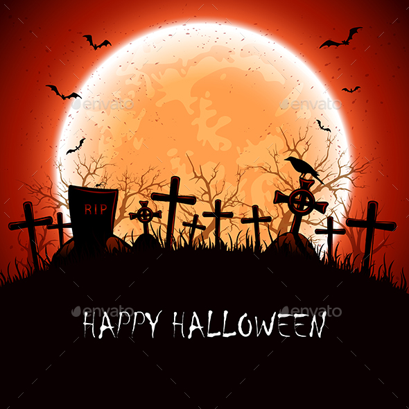 Halloween Night at the Cemetery