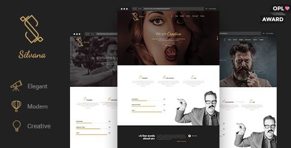 Silvana - Agency Unbounce Landing Page
