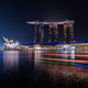 Marina Bay Sands Singapore At Night - VideoHive Item for Sale