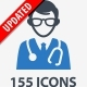 Medical & Health Care Icons - Blue Series - GraphicRiver Item for Sale