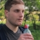 Caucasian Man Drinking Water In The Park - VideoHive Item for Sale