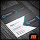 Corporate Blue Business Card Template - GraphicRiver Item for Sale