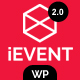 iEvent - Event & Conference WordPress Theme - ThemeForest Item for Sale