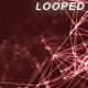 Dark Red Plexus Lines Background - VideoHive Item for Sale