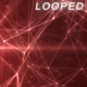 Red Plexus Network Lines Background - VideoHive Item for Sale
