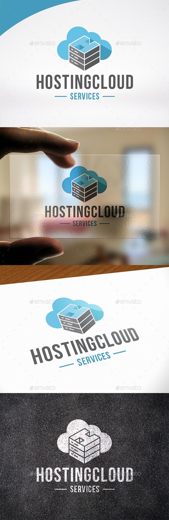 Hosting Letter H Logo Template
