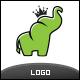 Elephant King Logo - GraphicRiver Item for Sale