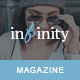 Infinity - Stylish & Modern Magazine HTML Template - ThemeForest Item for Sale