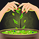 Magic Potion in Cauldron - GraphicRiver Item for Sale