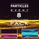 Particles Event Backgrounds Pack - VideoHive Item for Sale
