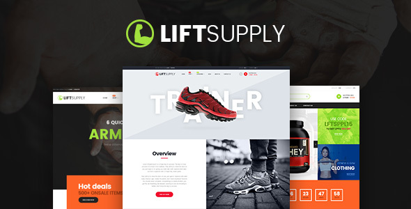 LiftSupply - Creative Single Product WooCommerce WordPress theme