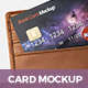 Credit Card Bank Mockup - GraphicRiver Item for Sale