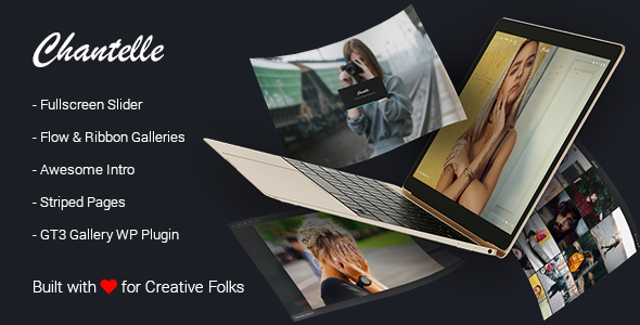 Photography Portfolio WordPress Theme - Chantelle