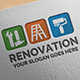 Renovation Logo Template - GraphicRiver Item for Sale