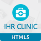 IHR Clinic HTML5 Template - ThemeForest Item for Sale