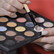 Cosmetic Brush Picking up the Shadows - VideoHive Item for Sale