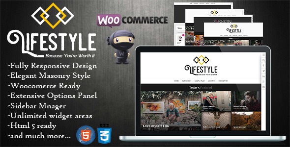 Lifestyle - Multipurpose Blog/Magazine Theme