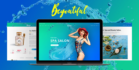 Spa Beauty and Hair Salon WordPress Theme - Beyoutiful