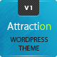 Attraction Responsive WordPress Landing Page Theme - ThemeForest Item for Sale