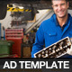 Pro Services A4 Magazine Advertisement Templates 2 - GraphicRiver Item for Sale