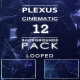 Cinematic Plexus Backgrounds Pack - VideoHive Item for Sale