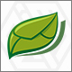Green Mesage - Back to the Nature Logo - GraphicRiver Item for Sale